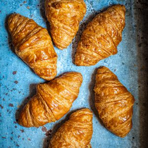 Frozen Butter Croissants (proofing required)