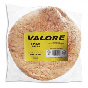 Valore 5 Pizza Bases (Halaal accredited supplier)