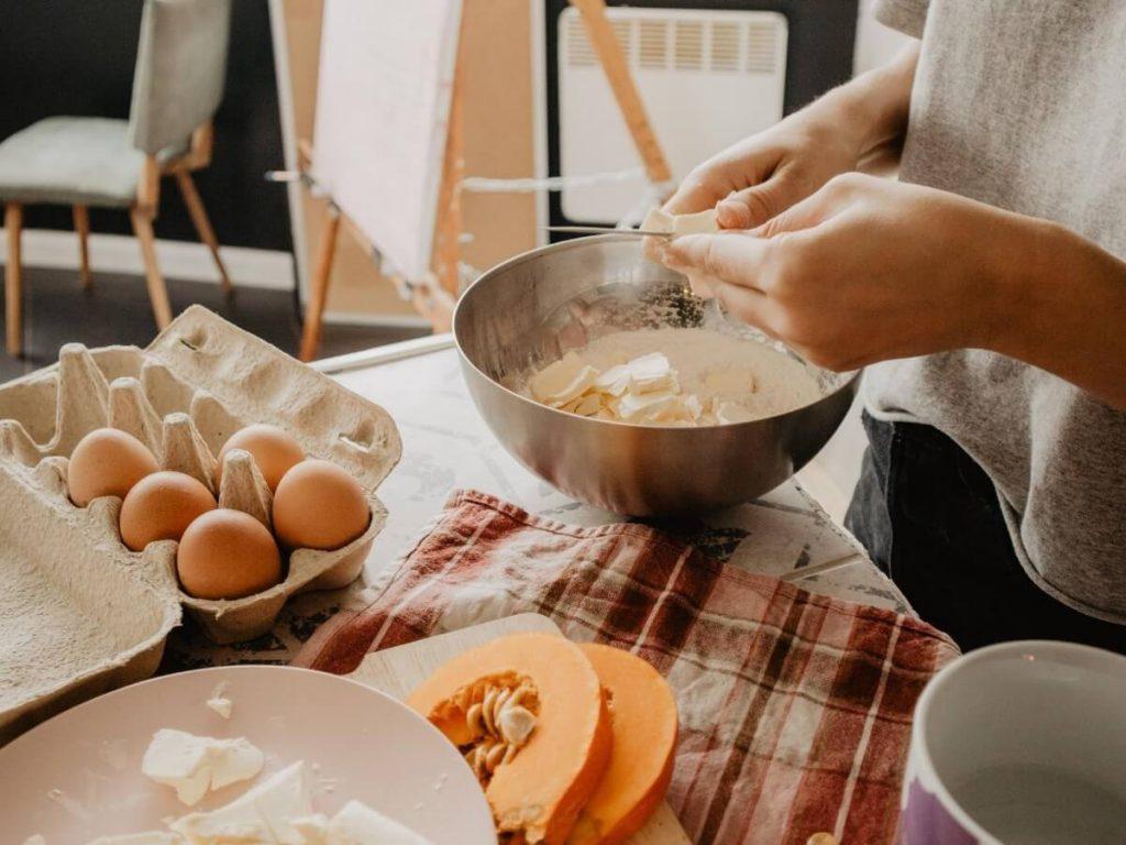 people baking