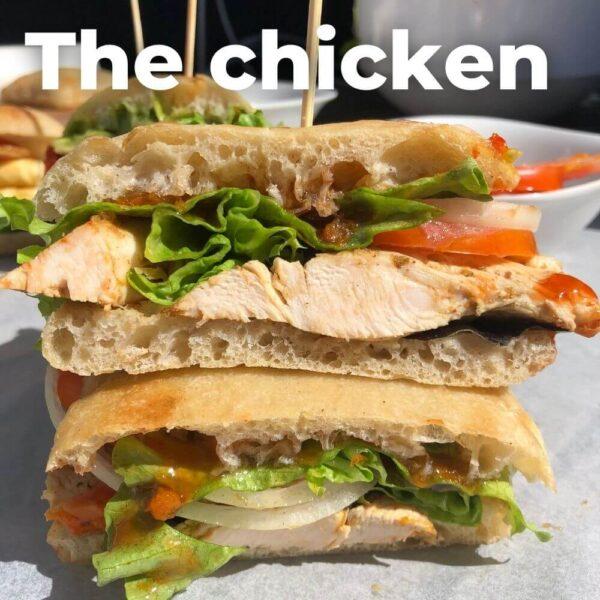 Chicken Ciabatta rolls